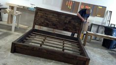 King bed from www.carpenterjames.com