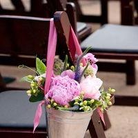 Flowers & Decor, Ceremony Flowers, Aisle Decor, Garden Wedding Flowers & Decor, Spring Wedding Flowers & Decor