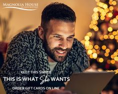 Gift Card Specials, Gift Card Promotions, Magnolia House, House Gifts, Free Gift Cards, Christmas And New Year, Spa, Easy