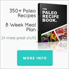Start your Paleo Diet with easy and healthy meals from Paleo Recipe Book. Over 370 paleo recipes just about anything you'll ever need on a Paleo diet. Paleo Recipes Easy, Diet Recipes, Vegetarian Recipes, Diet Tips, Paleo Cookbook, Cookbook Recipes, Dessert Recipes, Healthy Food List, Healthy Cooking