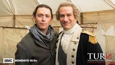Twitter General George Washington & Major John Andre