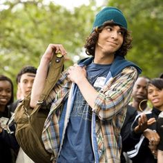 Adam G. Sevani (Step Up's Moose). He is just like the sexiest thing ever when he dances <3
