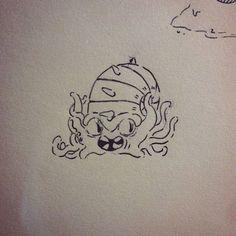 Omastar #pokemon #fanart #nintendo #art #artwork #draw #drawing #line #water #sketchbook #sketching #sketch #anime #manga #inktober #character #doodle #doodles