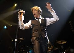 David Bowie in Concert at Roseland