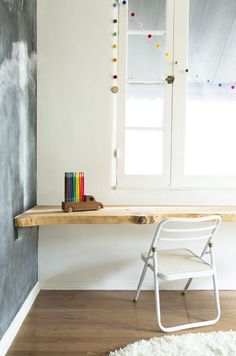 DIY table & calkboard