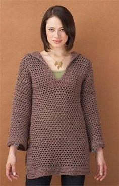Free Crochet Pattern: Beach Cover-up / Tunic by marissa.clearewilson
