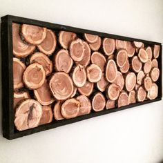 Wood Slices Wall Decor by RyDesigns04 on Etsy