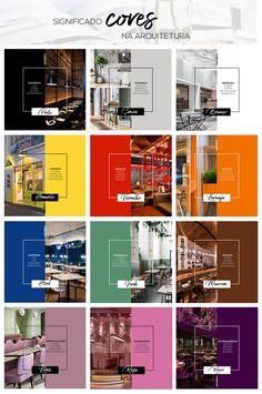 Veja o significado das principais cores e como se aplicam na arquitetura, quais seus objetivos e efeitos. . #cor #cores #architecture #arquitetura #significadocores #arquitetura #desgin #color #pintura Exterior Design, Interior And Exterior, Room Goals, Colour Pallete, Social Media Design, Interior Architecture, My House, Diy Home Decor, Design Inspiration