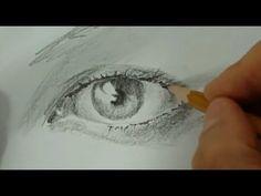 Augen zeichnen mit Bleistift - Ein Portrait-Tutorial zum lernen für Anfä...
