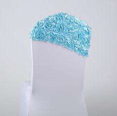 Wedding Linens Rosette Chair Cover