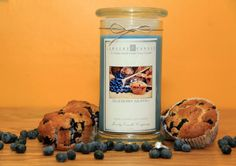 Blueberry Muffin Jewelry Candles