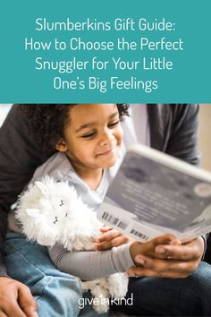 Give InKind highlights each of the @Slumberkins Snugglers that is needed to help support children's emotional needs depending on their situation. Visit Give InKind for gifts, ideas, information and a new way to schedule meals and help in times of need. #slumberkins #emotionalhealth #giftguide
