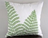 Fern pillow