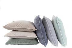 MrsBLOOM: Vintage Velvet Cushion (various colours) 45x45. Collection AW2014