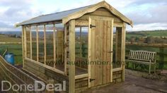 Discover All Sheds & Glasshouses For Sale in Ireland on DoneDeal. Buy & Sell on Ireland's Largest Sheds & Glasshouses Marketplace. Greenhouses For Sale, Large Sheds, Garden Fencing, Picnic Table, Play Houses, Gazebo, Ireland, Outdoor Structures, Timber Products
