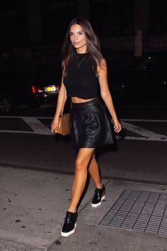 Emily Ratajkowski out in New York City
