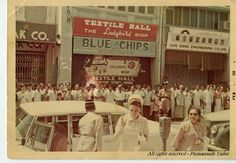 Our Shop on 14 Bishop Street kept open during the weekend for Empress of Iran Shahbanou. Picture dated: Feb 1968. Photo courtesy of Parmanands Tailor (Penang Tailor).