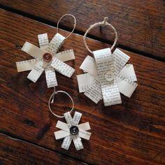 Decorazioni fai da te per l'albero di Natale - Addobbi di carta