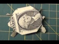 Dollar Origami - How To Make an Origami Turtle from a Dollar Bill Tutorial Money Origami Fish Easy, Easy Dollar Bill Origami, Fold Dollar Bill, Origami Easy Step By Step, Origami Turtle, Useful Origami, Origami Love, Origami Design, Dollar Bills