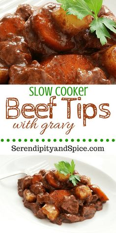 SLOW COOKER Beef Tip