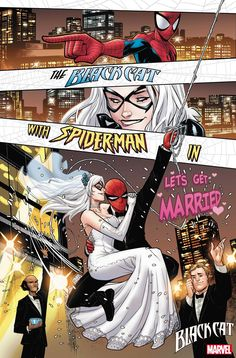 Felicia Hardy Gets Her Claws into Spider-Man in 'Black Cat Annual' Spiderman Black Cat, Spiderman Girl, Black Cat Marvel, Spiderman Movie, Amazing Spiderman, Marvel Art, Marvel Dc Comics, Marvel Heroes, Marvel Games