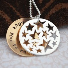 I love you to the moon and back necklace  - this would make a great Mother's Day gift