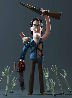Muñecos de famosos personajes del cine, series y la música
