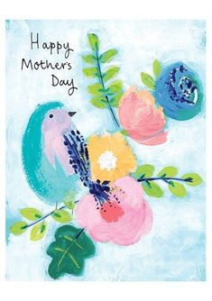 A wonderful birthday card with a beautiful bird and blossoms design.The caption reads Happy Birthday.The card is part of the gorgeous painterly floral Fresco Birthday range by Paper Salad. The cards are all printed with neon inks and come with coo. Birthday Messages, Birthday Greetings, Birthday Wishes, Birthday Cards, Birthday Memes, Greeting Card Store, Online Greeting Cards, Happy Birthday Birds, Make Your Own Card
