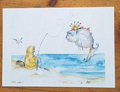 Aktion Kunstraub Nr. 14....TimpeTe - Postkarte von Berlin_art auf DaWanda.com