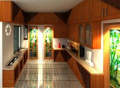 Gypsum wall unit fireplace design company in dhaka for Kitchen decoration in bangladesh