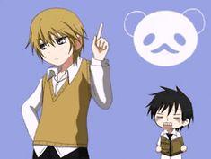 Shinobu and Miyagi gif