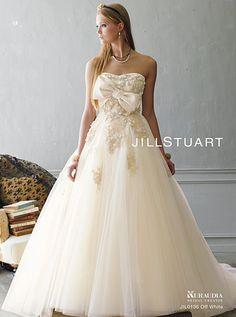ウェディングドレス ジルスチュアート sposa blanca jill stuart wedding dress