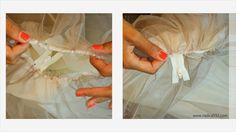 Nadira037: DIY | Tulle Maxi Skirt | Zipper Closure | Tutorial