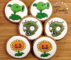 plants vs zombie cookies - Google Search