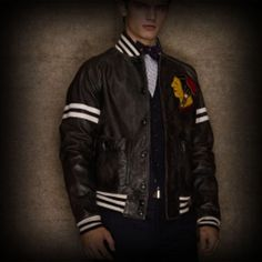 Ralph Lauren Rugby Leather