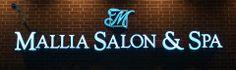 Mallia Salon & Spa  740 Concourse Circle Middle River MD 21220 410.344.6478 Middle River, Spa, Salons, Neon Signs, Tours, Lounges