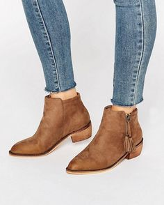 asos zip ankle boots