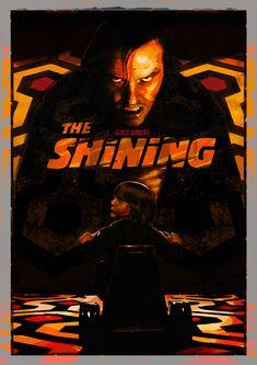 "kogaionon: "" The Shining by Alex Tsoucas / Behance / PosterSpy / Instagram """