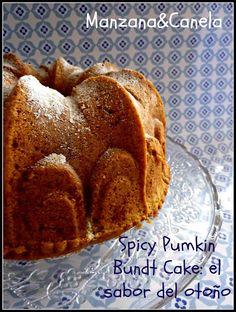 Spicy Pumkin Bundt Cake
