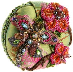 Shop a great selection of Mary Frances Mary Frances Damsel In Flight Green & Pink Dragonfly Convertible Clutch Handbag. Find new offer and Similar products for Mary Frances Mary Frances Damsel In Flight Green & Pink Dragonfly Convertible Clutch Handbag. Beaded Clutch, Beaded Purses, Beaded Bags, Vintage Purses, Vintage Bags, Vintage Handbags, Mary Frances Purses, Mary Frances Handbags, Embroidered Bag