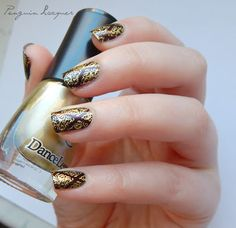 Dance Legend Stamping Polish - 5 Gold