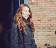 Gülüşü Elcin Sangu, Turkish Beauty, Turkish Actors, Beautiful Actresses, Girl Crushes, Redheads, Dreadlocks, Long Hair Styles, 50 Shades