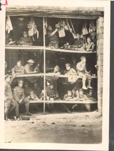 Canadian Troops in Billets : World War One Photographs and Journals