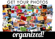 organize your scrapbook photos so you can work faster and find what you're looking for