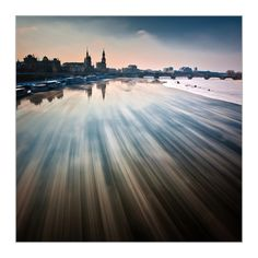 DRESDEN (Ice floes on the river Elbe) by Tomas Morkes, via 500px