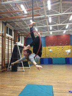 Lyra Aerial, Aerial Hoop, Aerial Silks, Gymnastics Tricks, Lira, Stretching, Flexibility, Dancer, Basketball Court