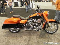 harley roadking cvo 2014 orange - My dream bike