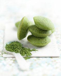 #Financiers au thé vert #matcha