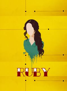 The darkest minds Ruby = the only female protagonist who doesn't annoy you to death.