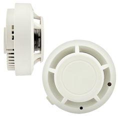 Alta Sensibile Rivelatore di Fumo Senza Fili Home Security Sistemi di Allarme Indipendente Rilevatore di Fumo Allarme Incendio Sensore di Allarme di Protezione